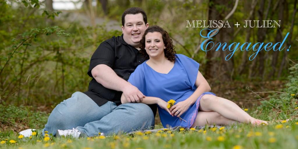 Engagement session | Melissa and Julien
