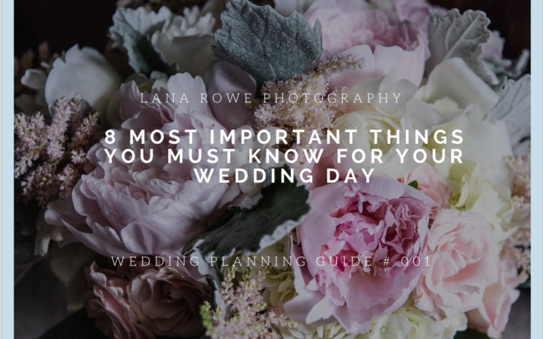 Wedding guide series